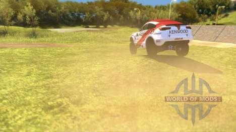 Mitsubishi Lancer Dakar para Spin Tires