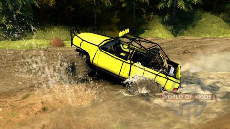 Chevy Blazer Rock Crawler para Spin Tires