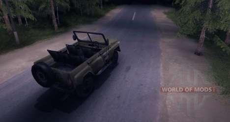 UAZ-469 v 1.0 para Spin Tires