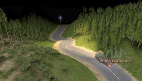 Mapa da estrada para o céu para Spin Tires