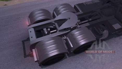 KAMAZ-65116 para Spin Tires