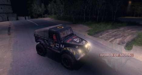 GAZ-69 Offroad Edition v 1.1 para Spin Tires