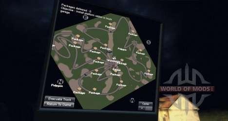 Mapa da floresta para Spin Tires