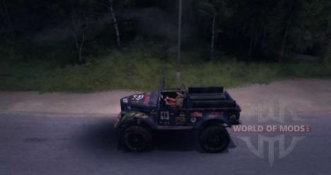GAZ-69 Off Road Edition para Spin Tires