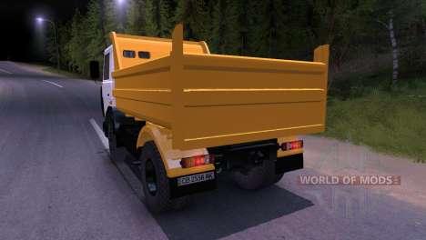 Maz-5551 para Spin Tires