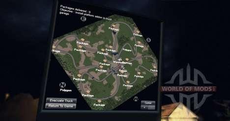 Mapa da floresta 2 para Spin Tires