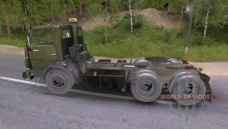 KAMAZ-54101 para Spin Tires
