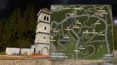 O mapa do projecto
