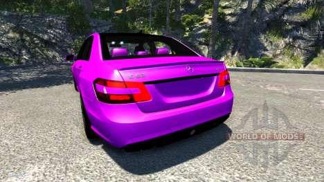 Mercedes-Benz E63 para BeamNG Drive