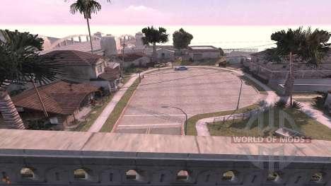Grove Street v1.1 - mapa para BeamNG Drive