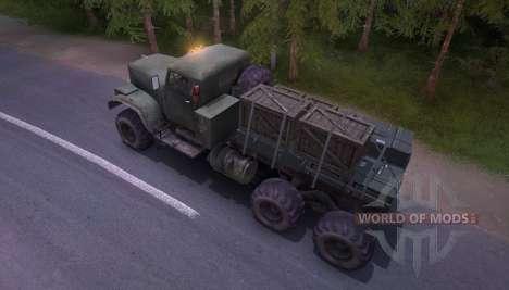 Transportar caixas para Spin Tires