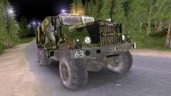 KrAZ caminhão Camo v2