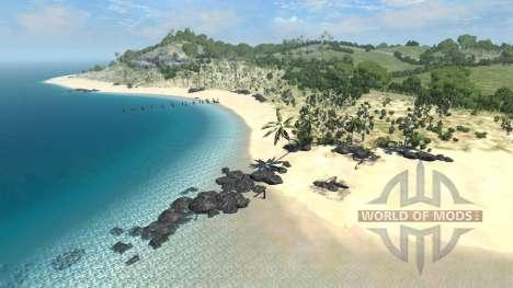 Localização Seco rock island- para BeamNG Drive