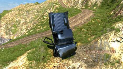 Gavril D-15 Sport para BeamNG Drive