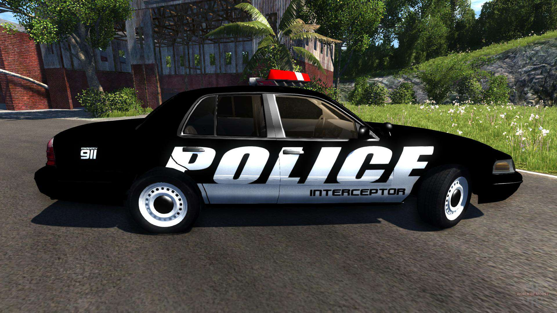 ford crown victoria police interceptor para beamng drive. Black Bedroom Furniture Sets. Home Design Ideas