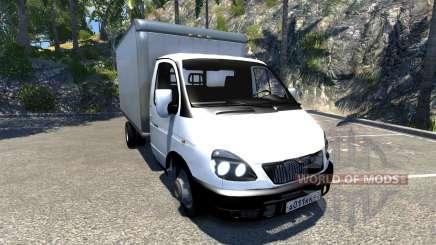 GAZ-3302 Gazel para BeamNG Drive