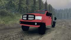 Dodge Ram 1500 brush truck para Spin Tires