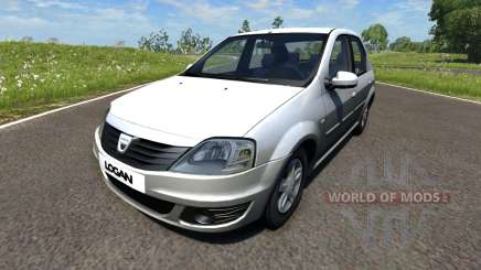 Dacia Logan 2008 para BeamNG Drive