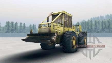O rebocador LKT 81 Turbo (Skidder) para Spin Tires