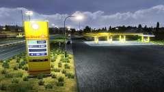 O Europeu de postos de gasolina