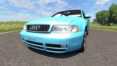 Audi S4 2000 [Pantone Blue 0821 C] para BeamNG Drive