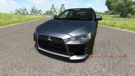 Mitsubishi Lancer Evolution X para BeamNG Drive