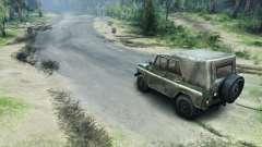 Estrada de asfalto