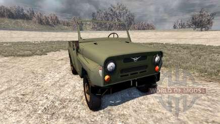 O UAZ-469 para BeamNG Drive