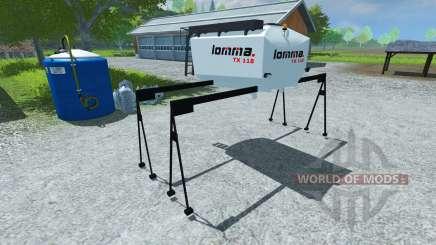 Tanque a lomma TX 118 para Farming Simulator 2013