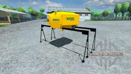 Tanque Amazone TX 118 para Farming Simulator 2013