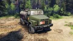 KrAZ-260 e KrAZ-63221 caminhão (SKVO SÉCULOS)