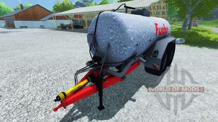 Fox-tanque 18500l para Farming Simulator 2013