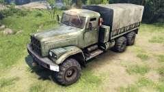 Novas texturas para as rodas KrAZ-255