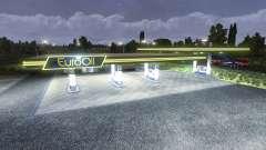A estação de gás EuroOil