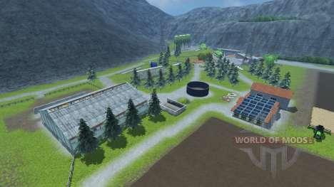 Fazenda de pequeno porte para Farming Simulator 2013