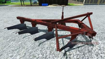 O arado PLN-4-35 para Farming Simulator 2013