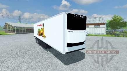 Semi-refrigerados KRONE Koffer Legal Forro para Farming Simulator 2013