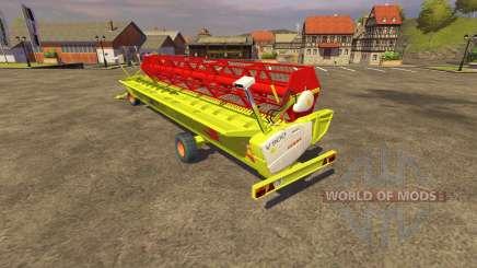 Reaper CLAAS 900 Vario 2008 para Farming Simulator 2013