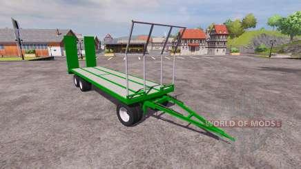 Reboque de transporte de para Farming Simulator 2013