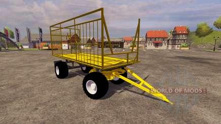 Amarelo trailer para Farming Simulator 2013