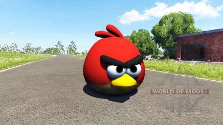 Pássaro vermelho (red) Angly Pássaro para BeamNG Drive