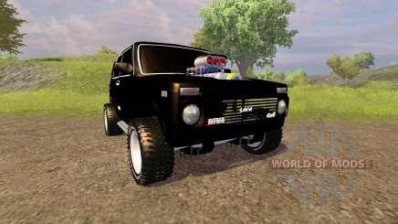 VAZ 2121 Niva Monstro para Farming Simulator 2013