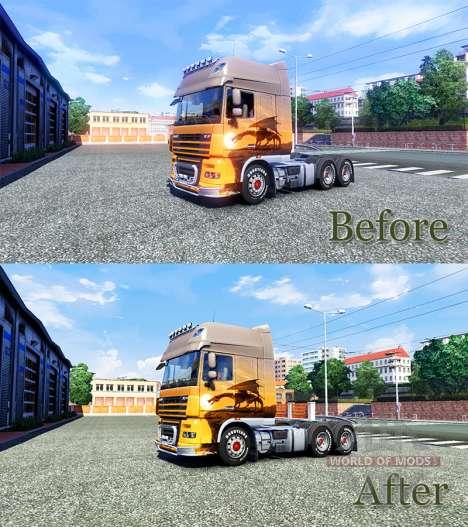 HDR melhoria para Euro Truck Simulator 2