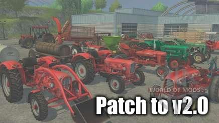 Patch para a versão 2.0 para Farming Simulator 2013