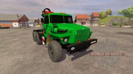 Ural-5557 guindaste verde para Farming Simulator 2013