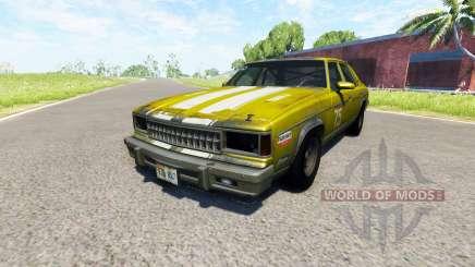 American Sedan skin2 para BeamNG Drive