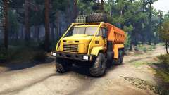 KrAZ-6322 v3.0 amarelo