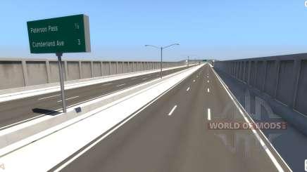 Estrada Da Matriz para BeamNG Drive