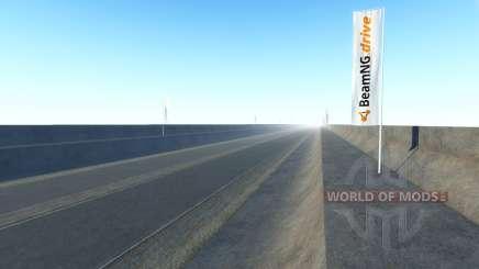 Infinita highway para BeamNG Drive