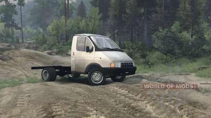 Gazela 3302 para Spin Tires